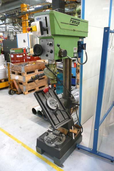 Brugt søjleboremaskine i god kvalitet fra Robert Petersens Værktøjsmaskiner.